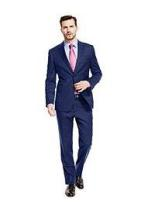 Navy suit M&S