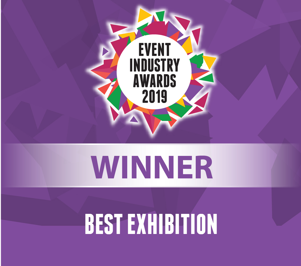 Event Industry Awards 2019 Best Exhibiton Winner